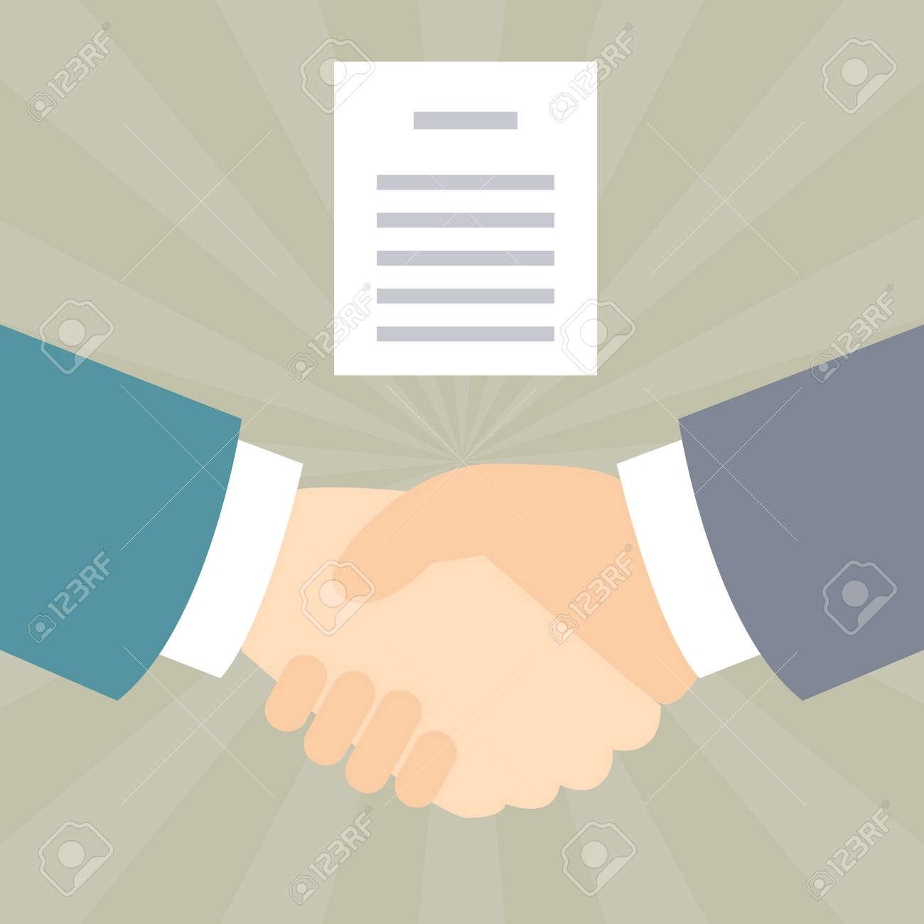 Handshake agreements - 168556884