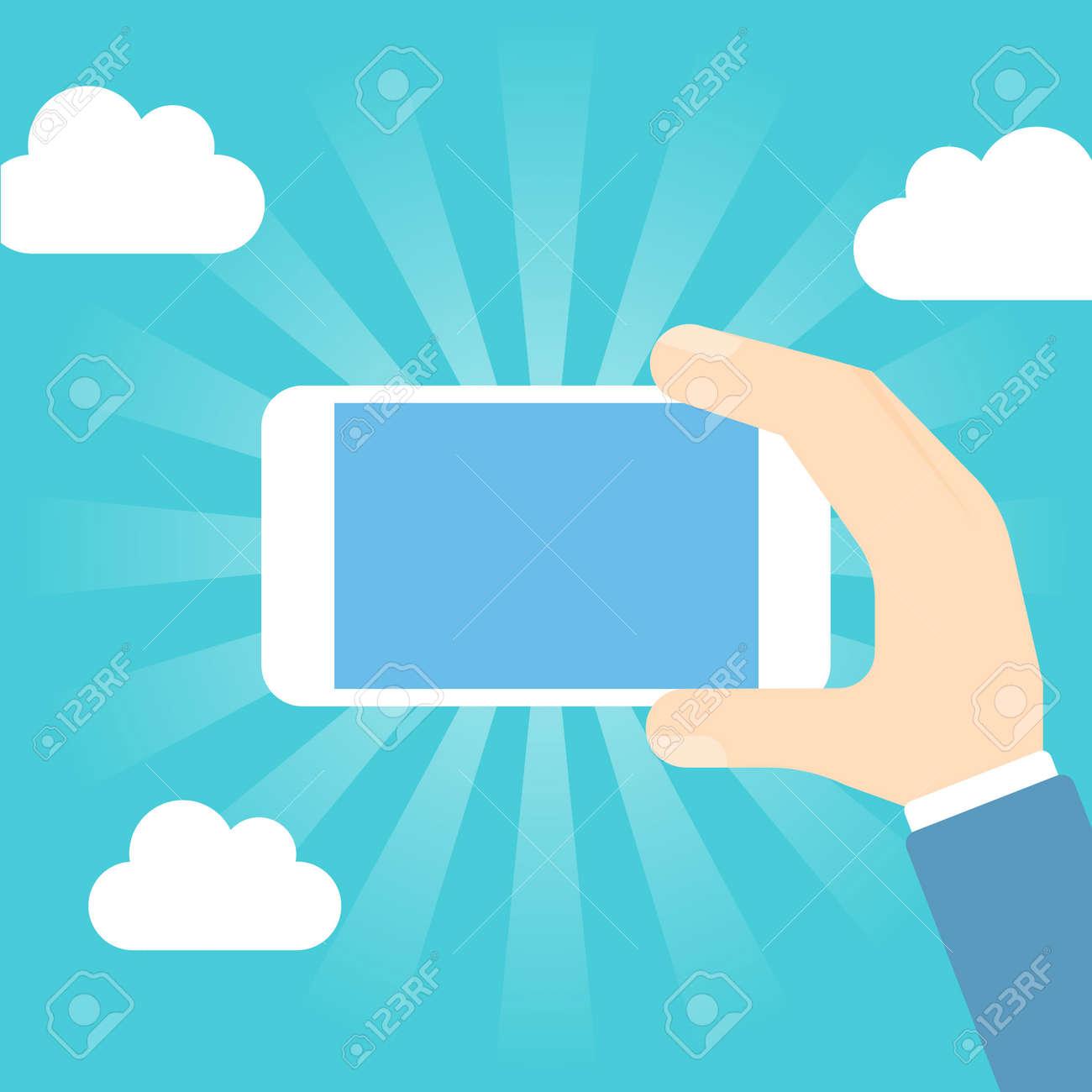 Smart phone operation - 168556886