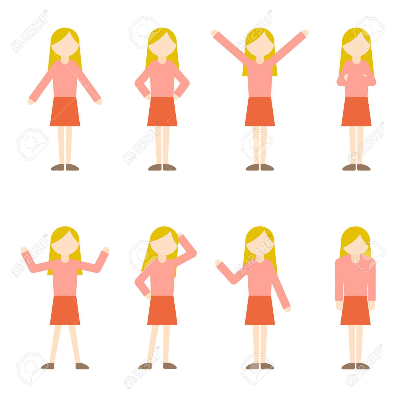 Flat Icon Person Mom Woman - 168585554