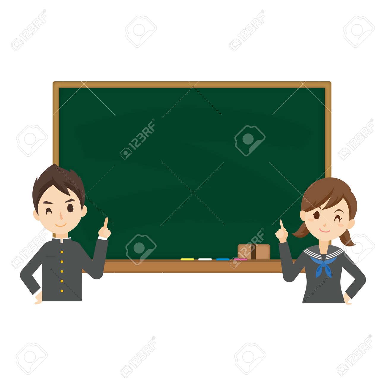 Student Blackboard Background - 168556973