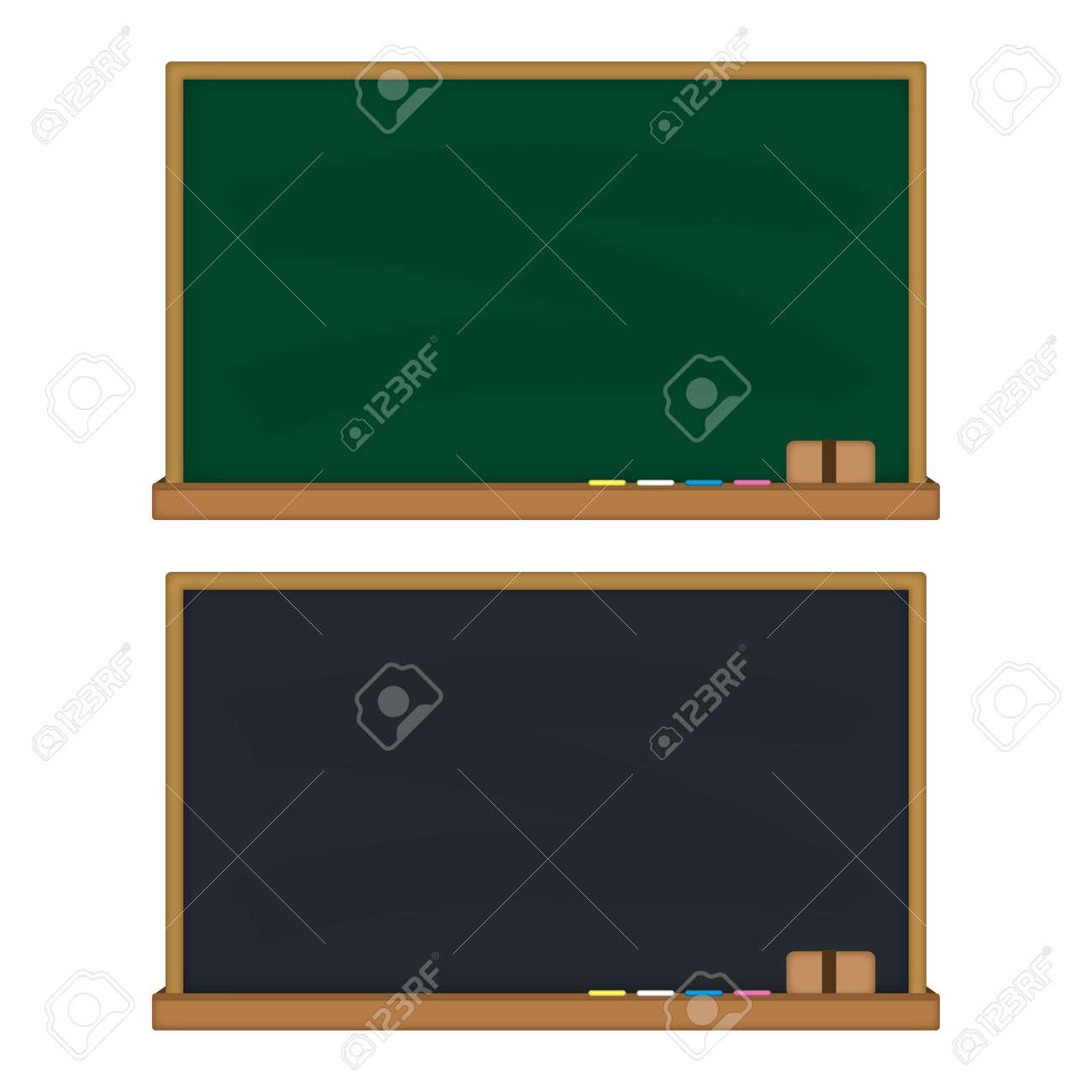 Blackboard Background Set - 168556978
