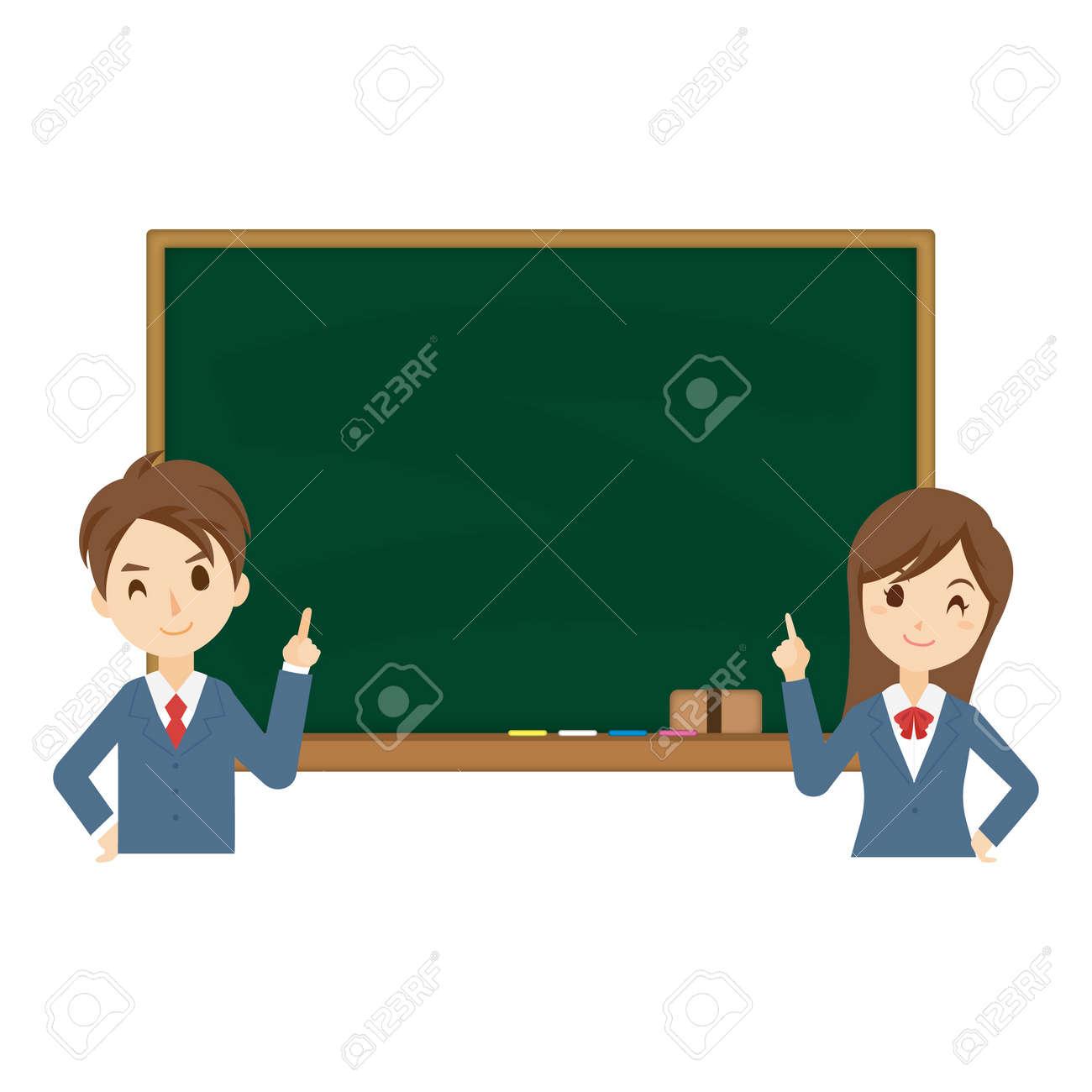 Student Blackboard Background - 168556979