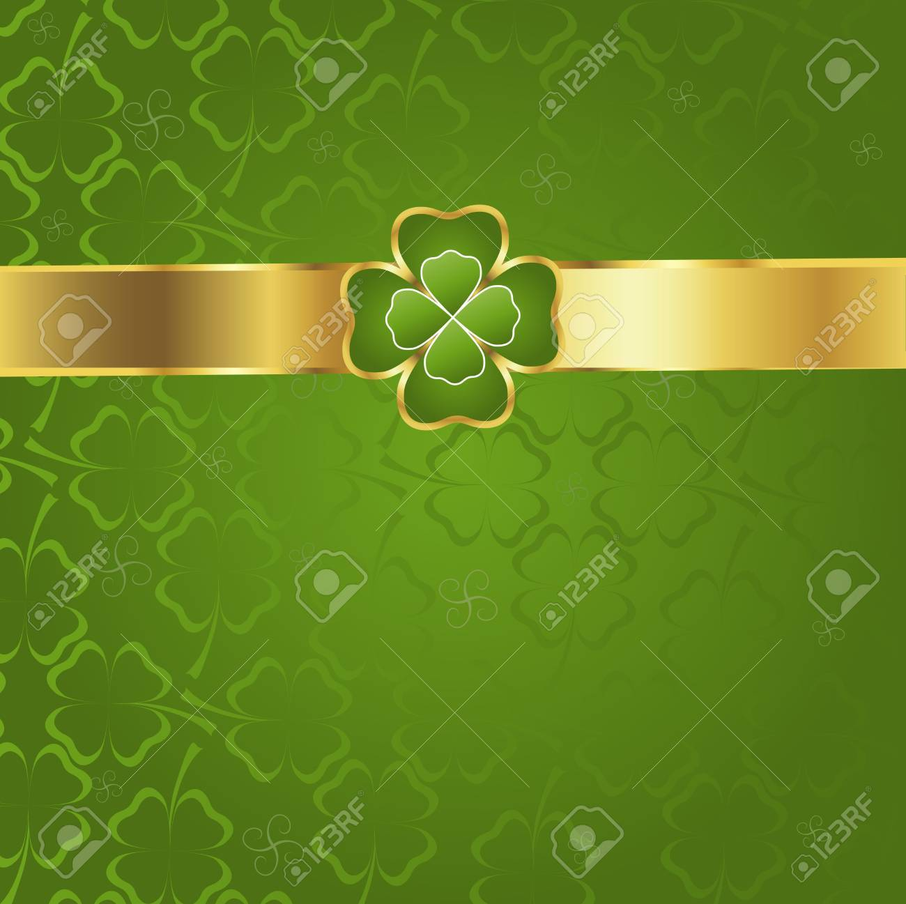 clover background Stock Photo - 6297300