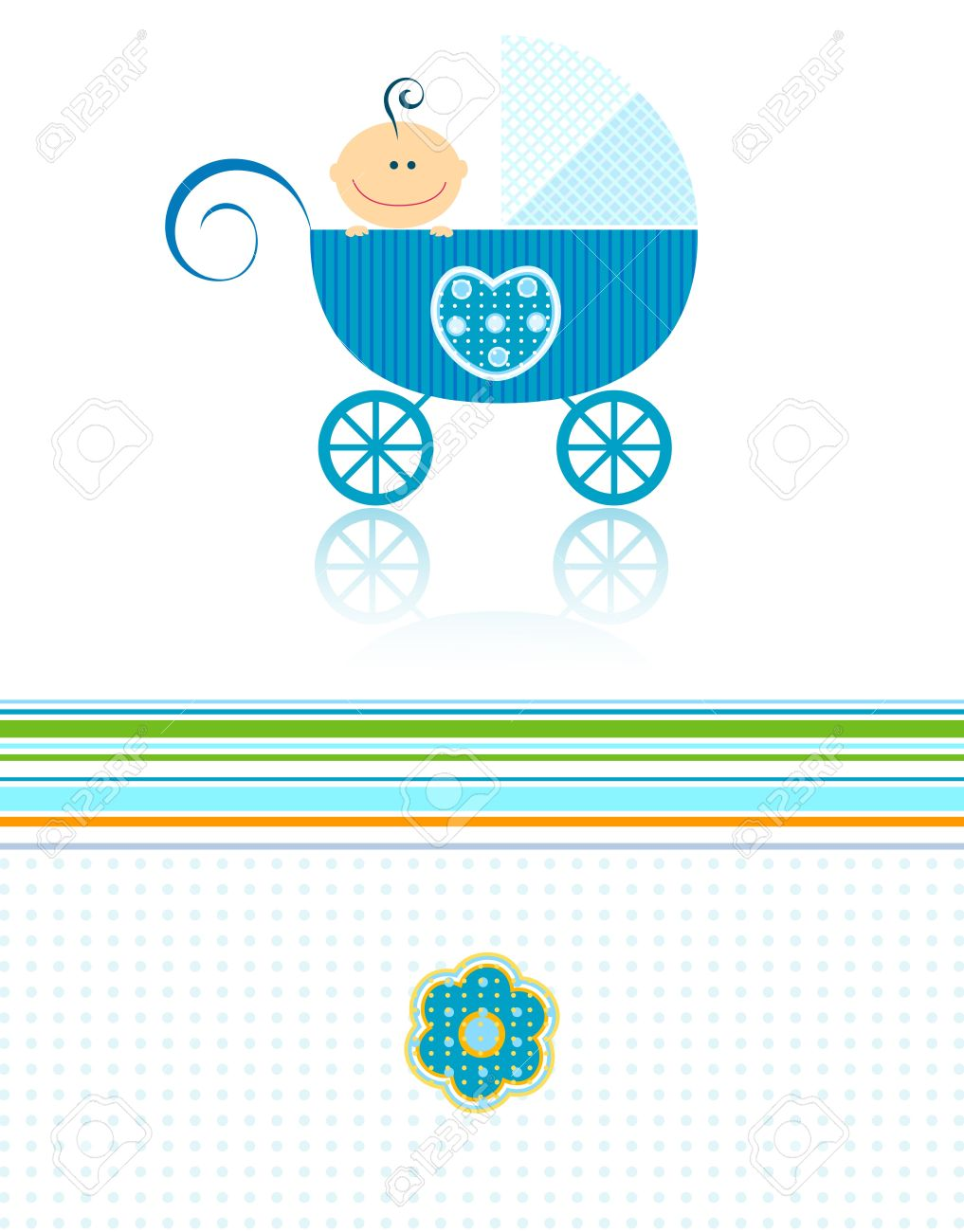 sweet blue baby boy announcement design stock photo, picture andstock photo sweet blue baby boy announcement design