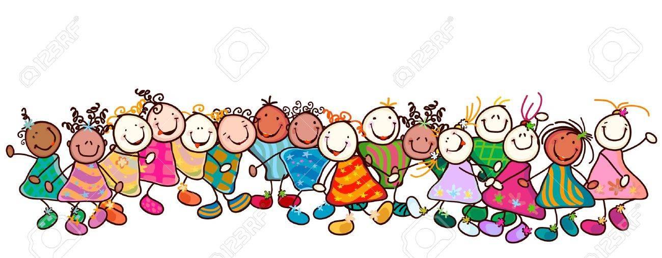 Afbeeldingsresultaat voor groep kinderen