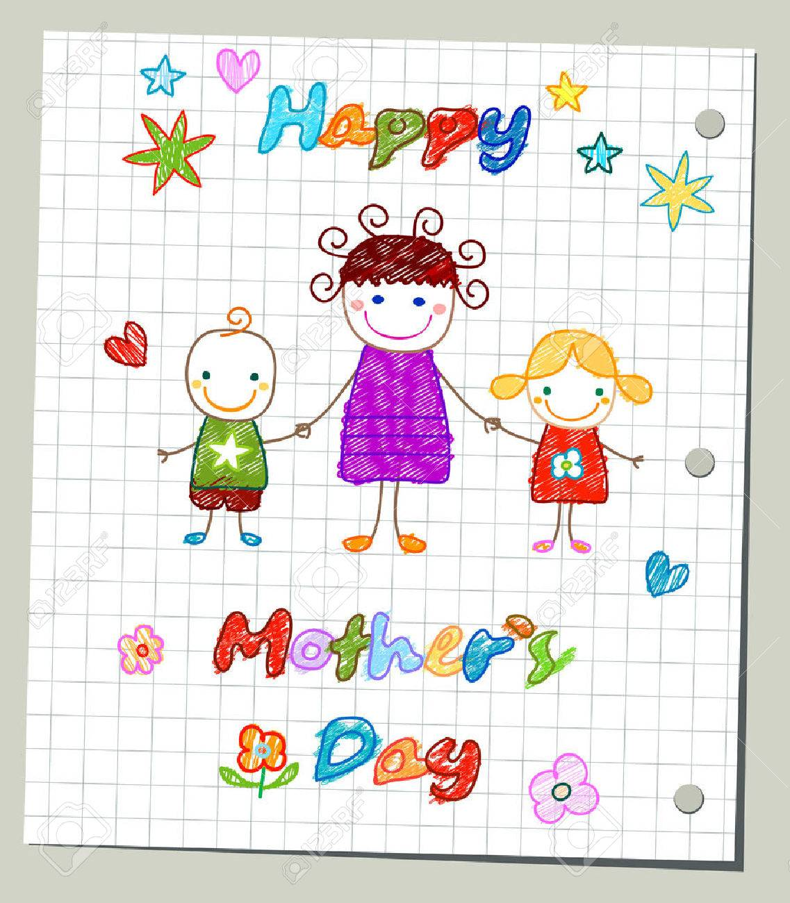 happy mother`s day card - 39308389