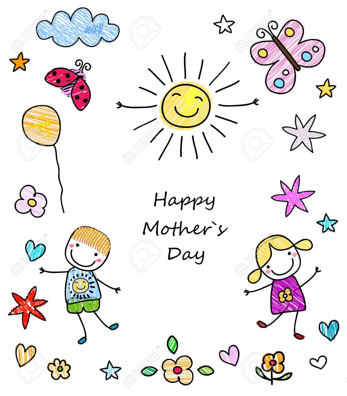 happy mother`s day card - 39348613