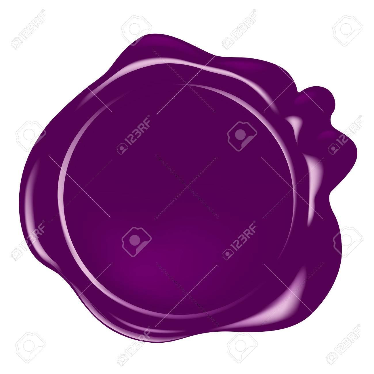 vector wax seal - 40864895