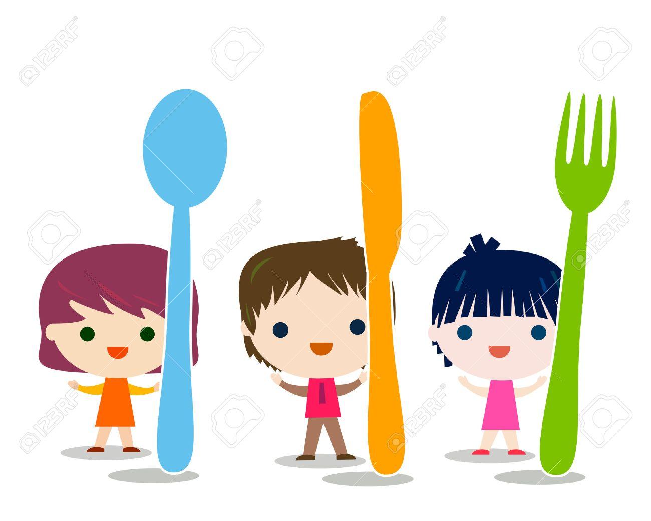 kids menu background illustration - 55450819