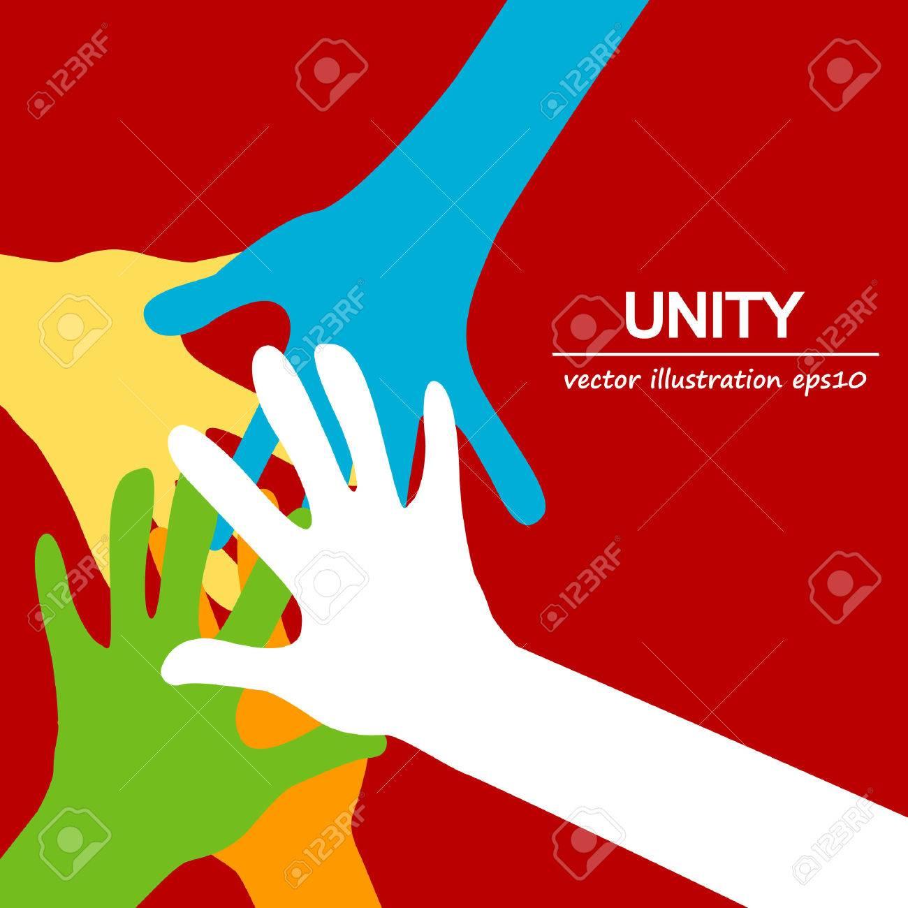 hands diverse togetherness - 66088446