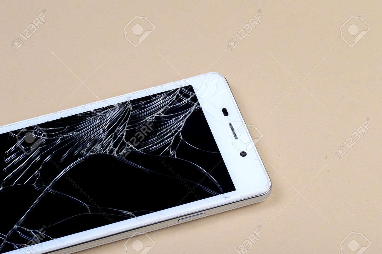 Smart Phone with broken screen - 136031119