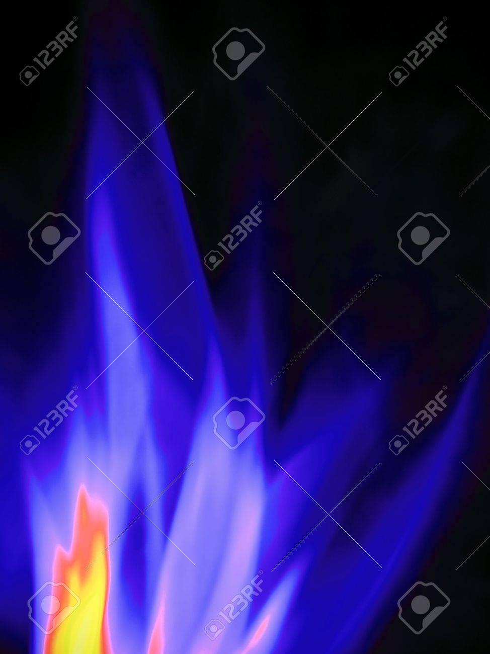 burning gas, close-up Stock Photo - 6139771