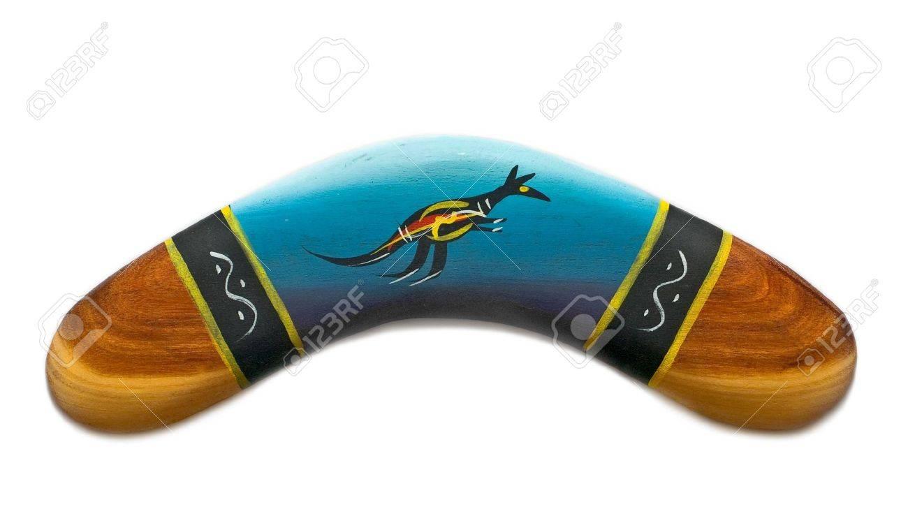painted boomerang Stock Photo - 7290525