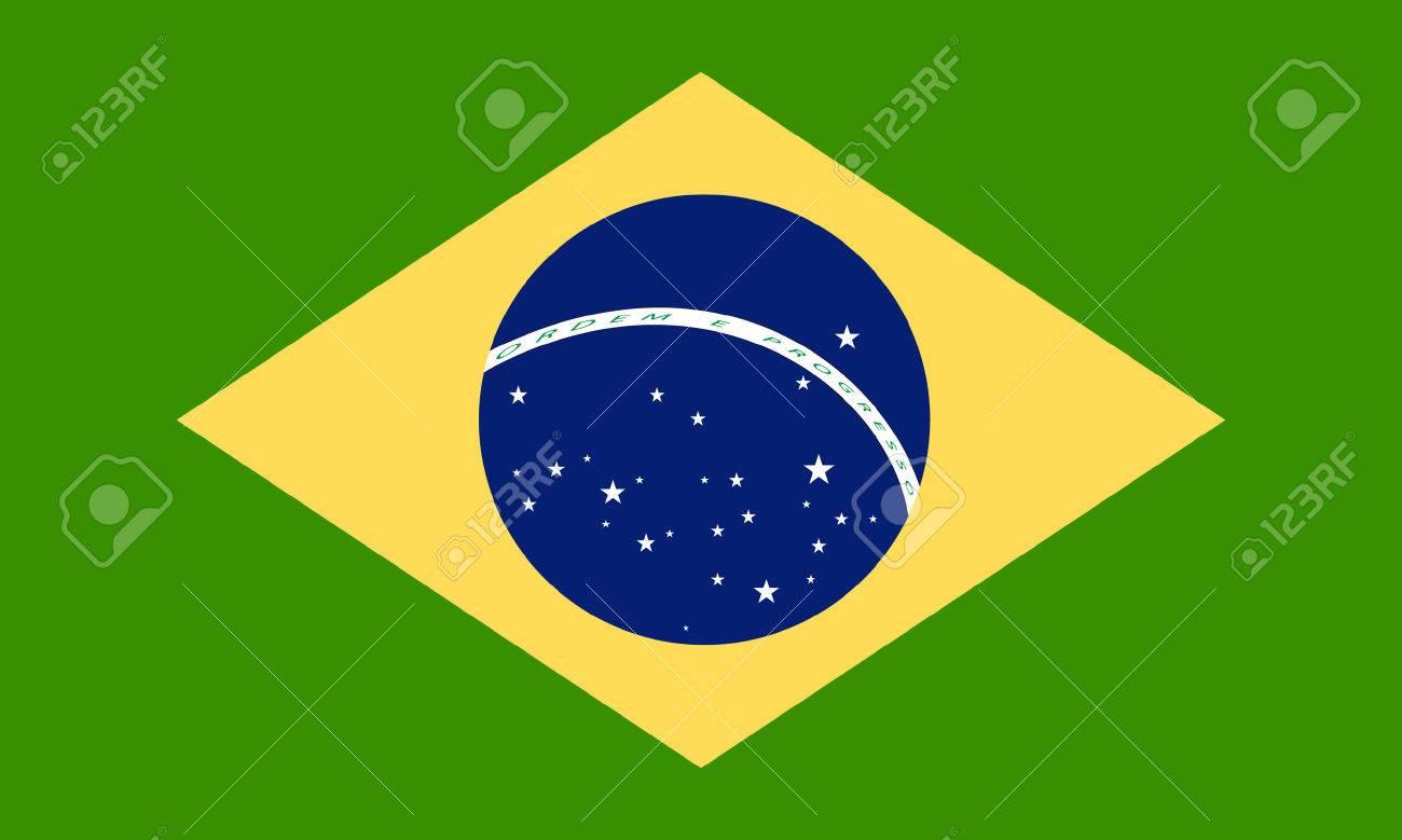 Handmade watercolor brazil flag brasil stock photos freeimages com - Brasil Brazilian Brazil Flag