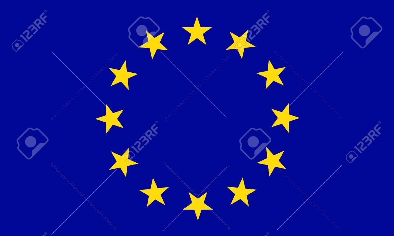 European Union flag Stock Vector - 7829492