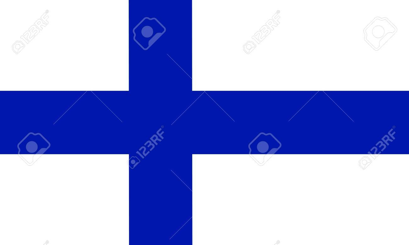 Finland flag Stock Vector - 7825575