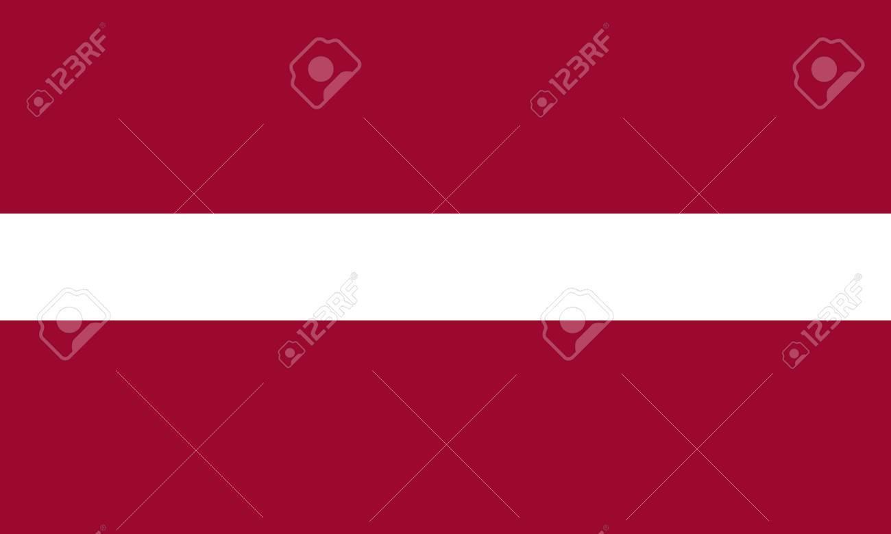Latvia flag Stock Vector - 7825572