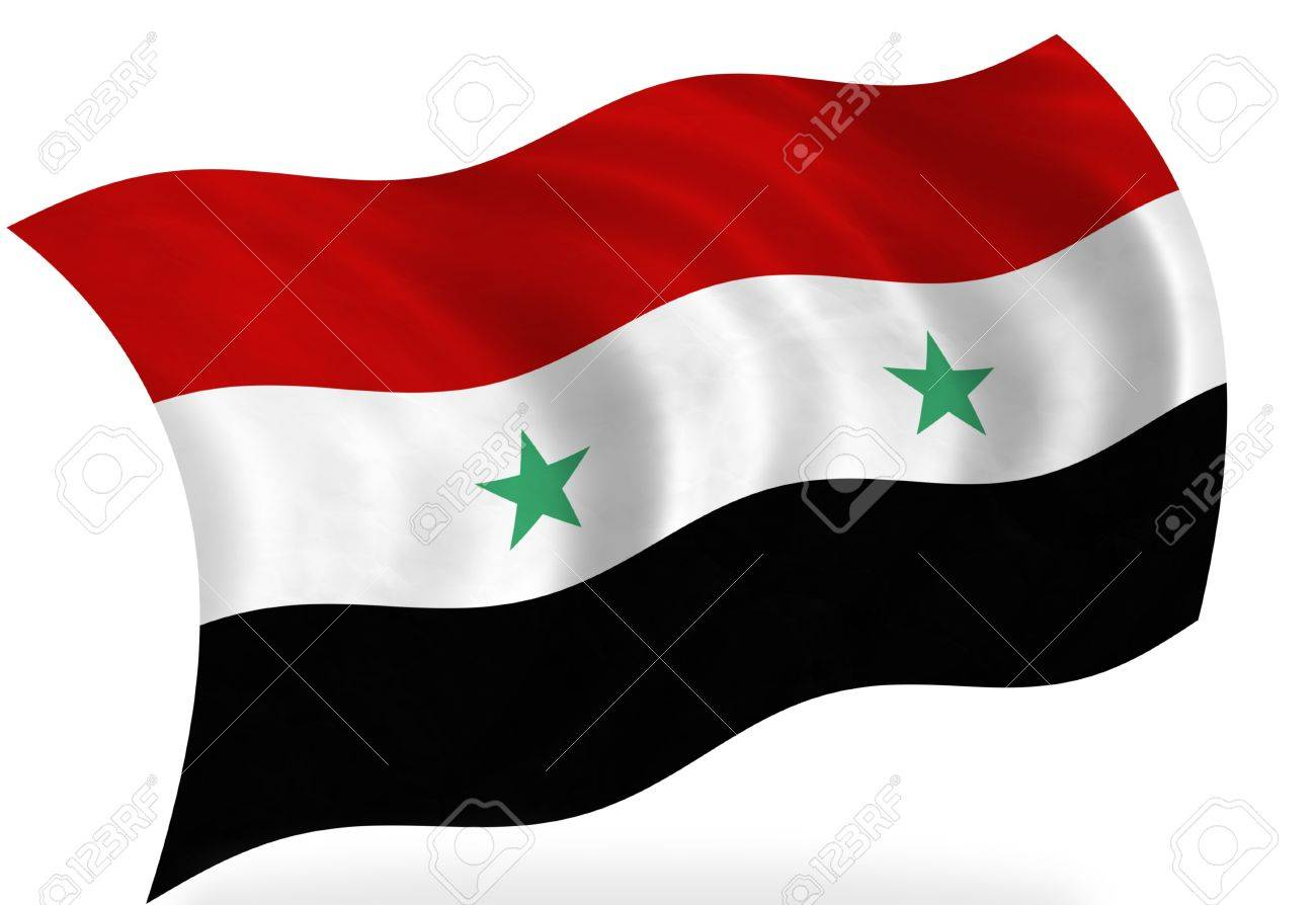 Syria Flag Isolated Stock Photo Picture And Royalty Free Image - Syria flag