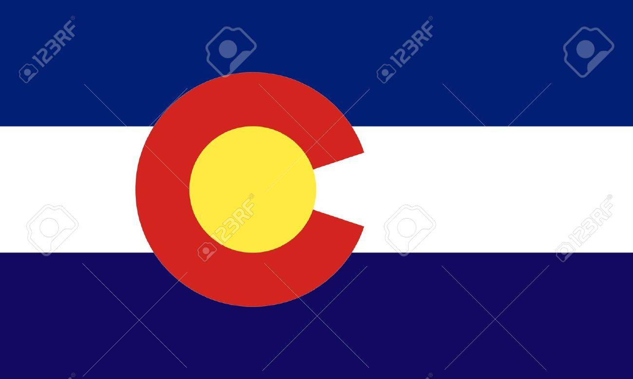 Colorado (USA) flag Stock Vector - 8310648