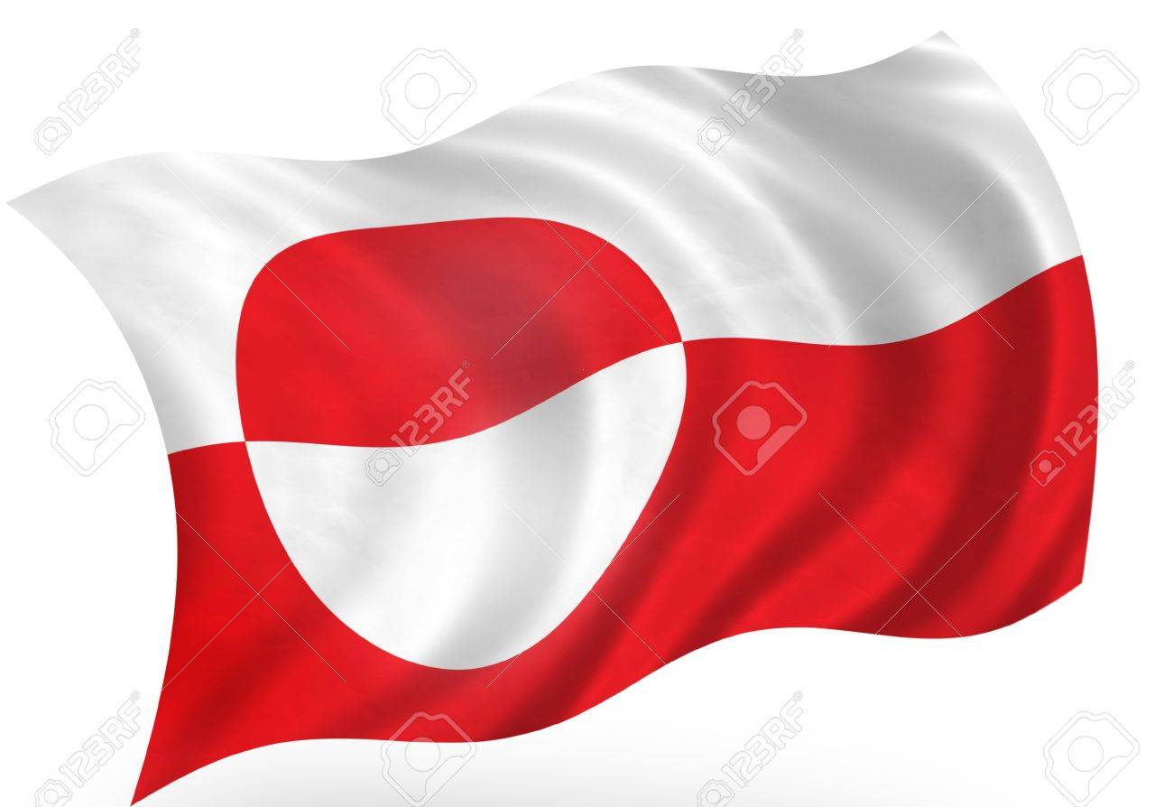 greenland island denmark flag stock photo picture and royalty