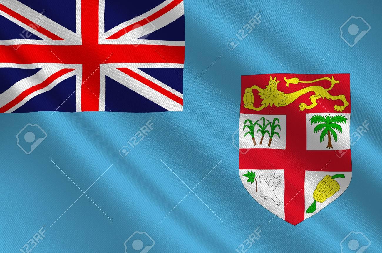 Flag Of Fiji Suva