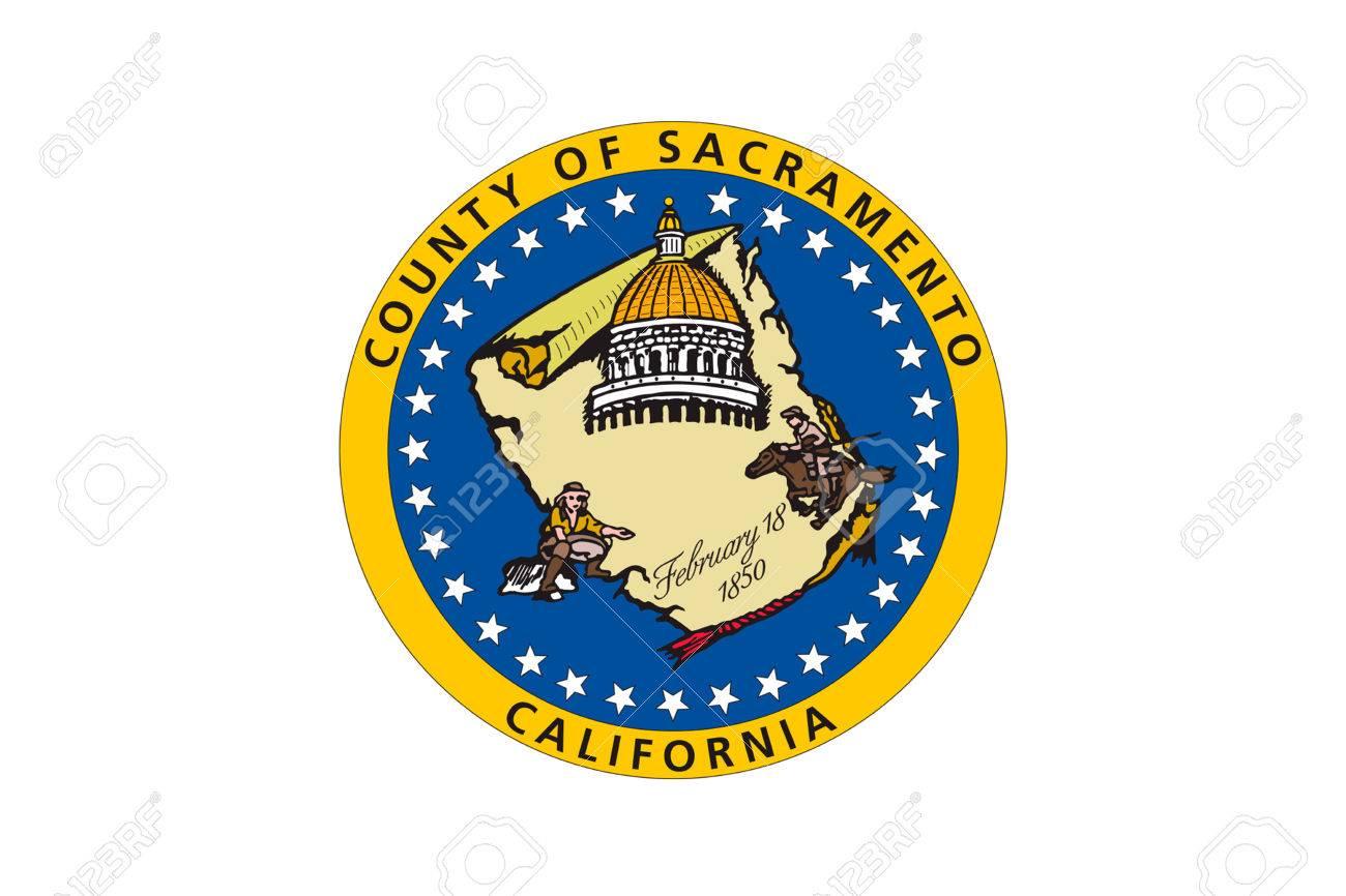 Flag of sacramento county in california state united states 3d flag of sacramento county in california state united states 3d illustration foto de archivo buycottarizona