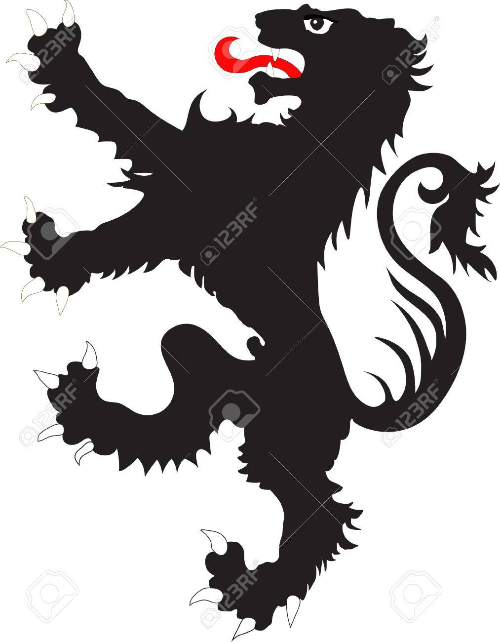 The Rebels Lion The Heraldic Symbol Used In The Flags And Coats
