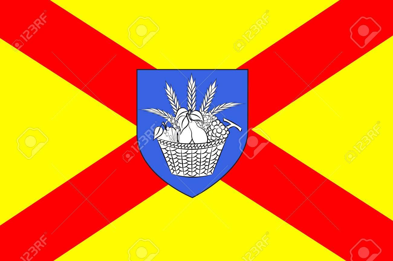 ボビニーの旗はコミューンとセー...