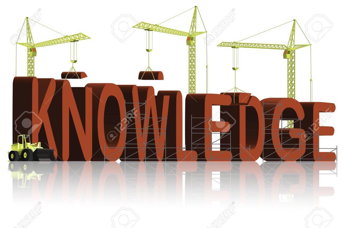 knowledge building Stock Photo - 6550478
