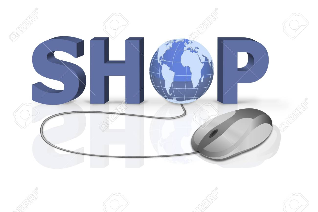 on line shopping Stock Photo - 6583764