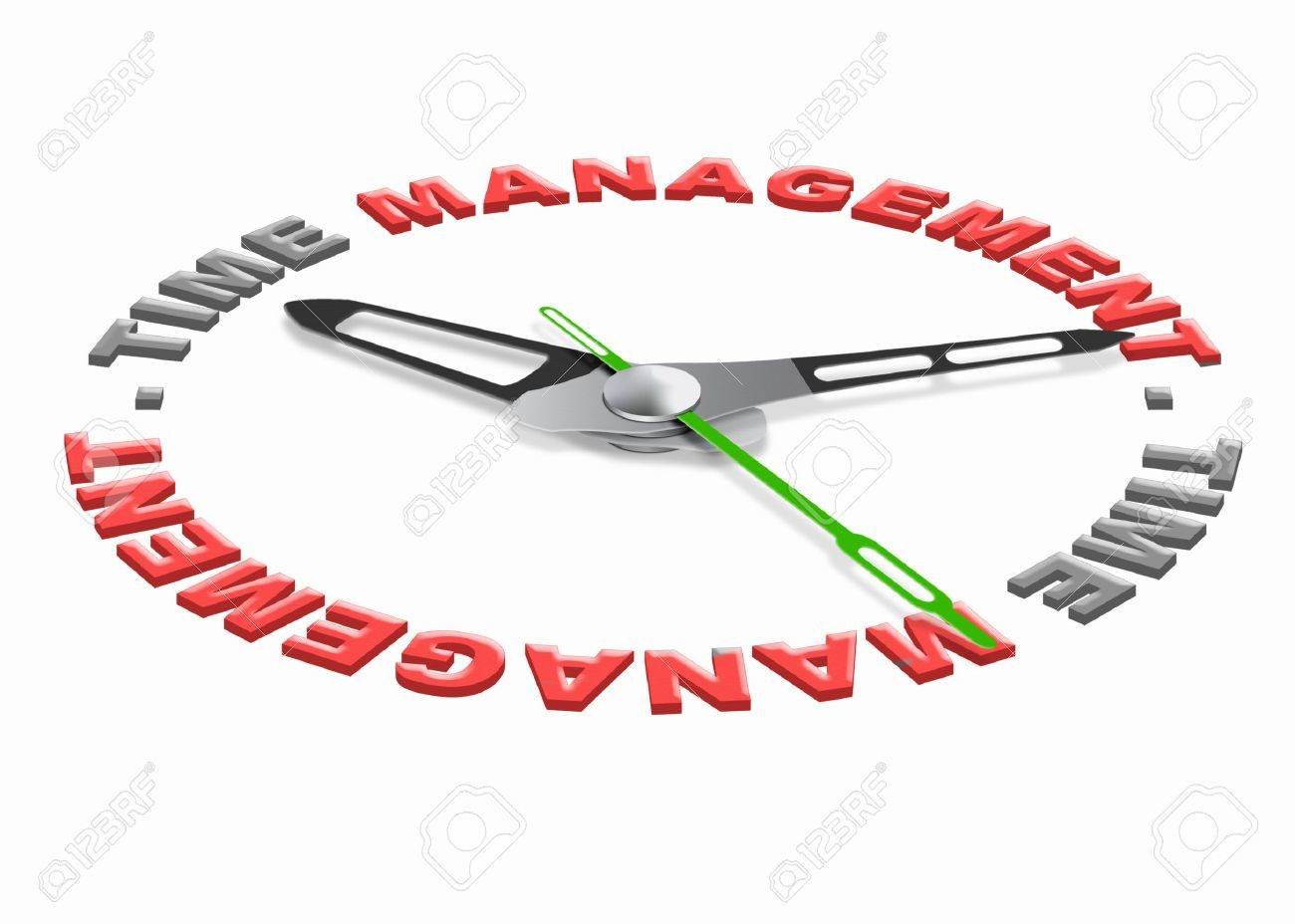 time management project planning with a daily scedule to increase efficience and productivity. Organize your tasks set goals and don't waiste time. Stock Photo - 9914389