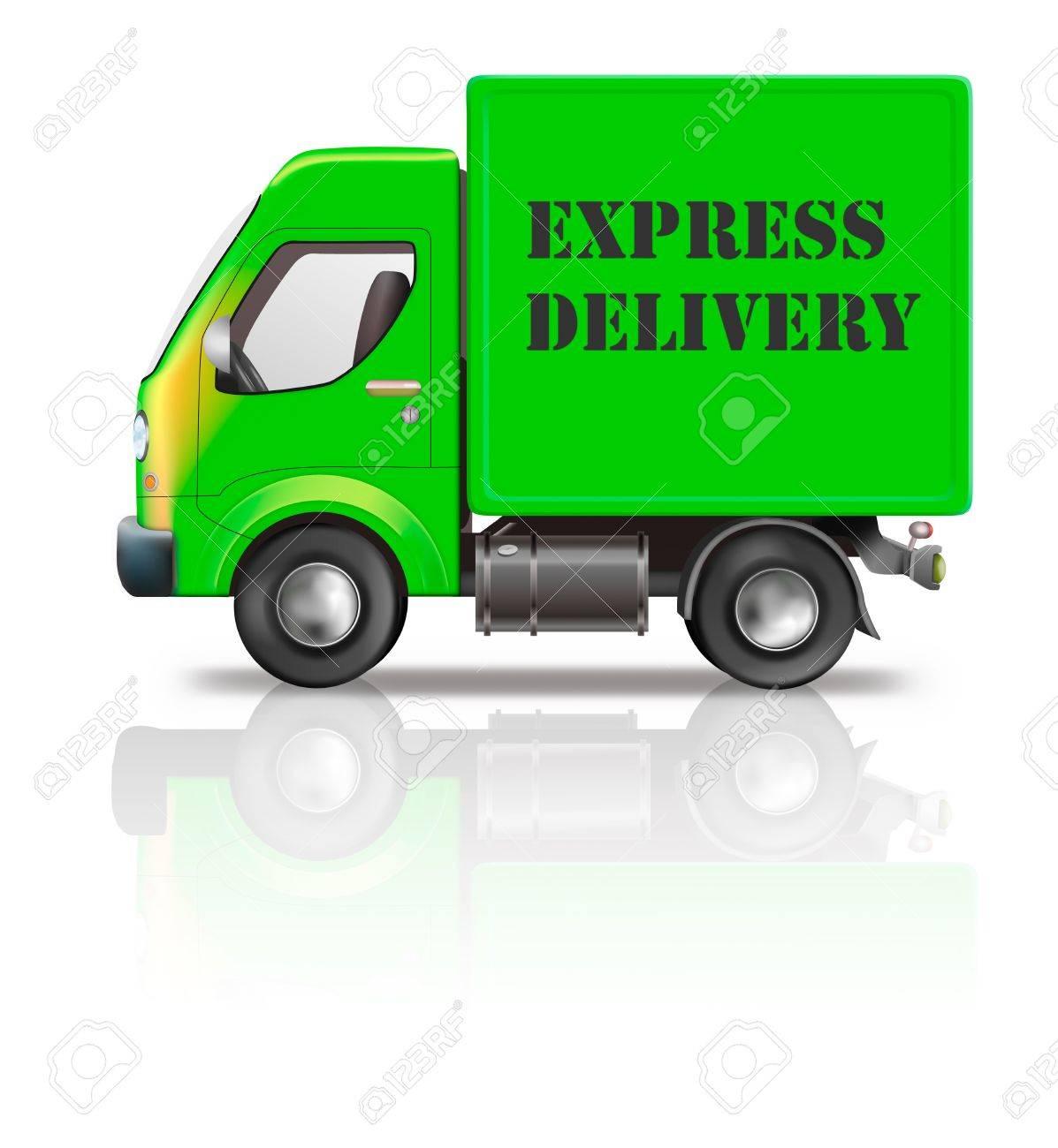 b380fd59121cac Expressversand Lieferung LKW schnell schnell und dringende Paket aus  Auftrag in online Web-Shop-