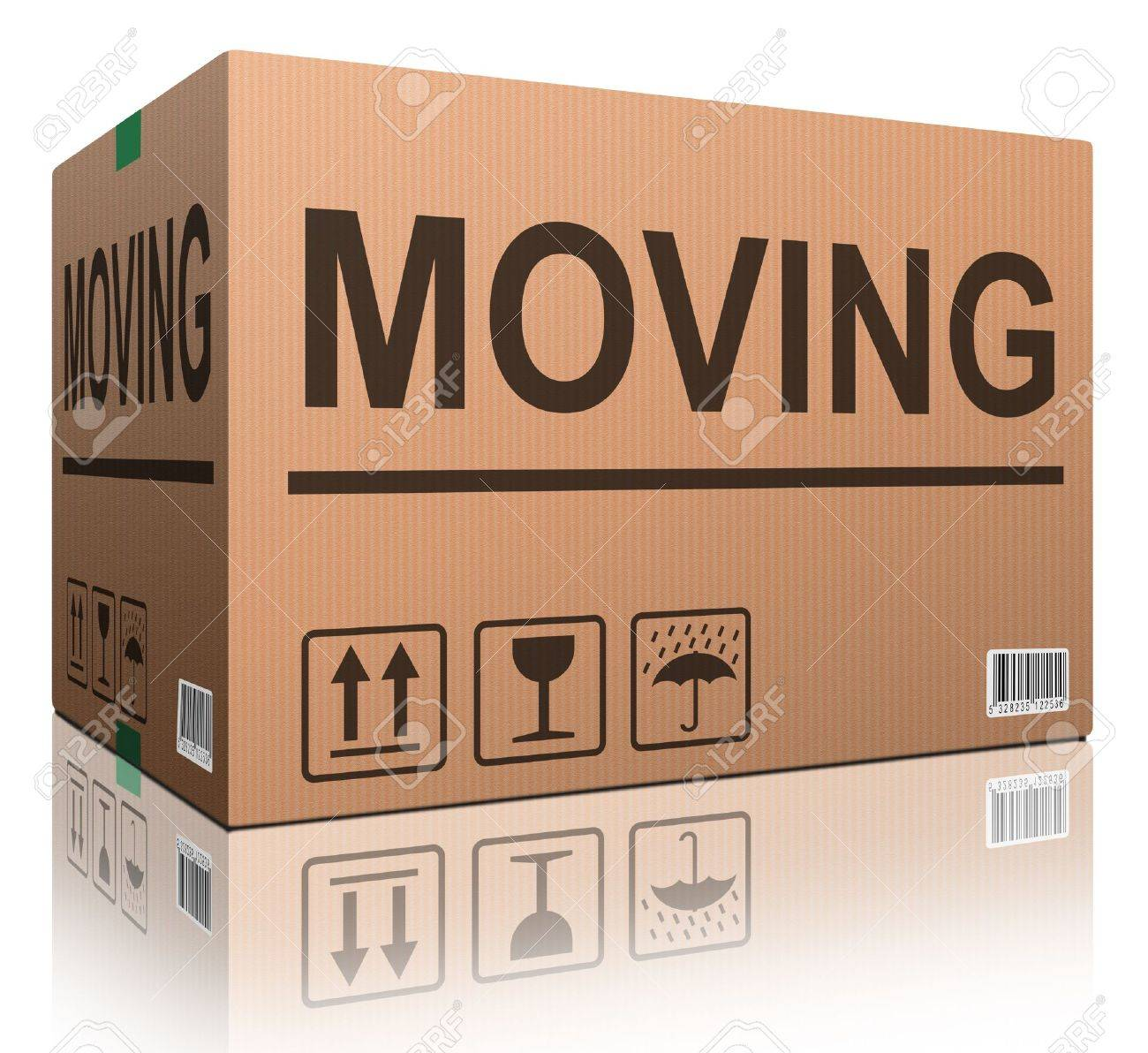 moving box cardboard brown package text relocation stock stock photo moving box cardboard brown package text relocation