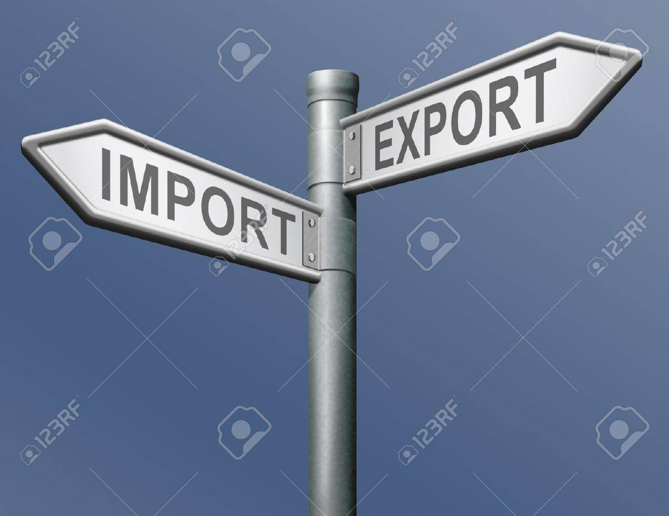 import and export freight transportation in international trade global economy and worldwide business Stock Photo - 13277731