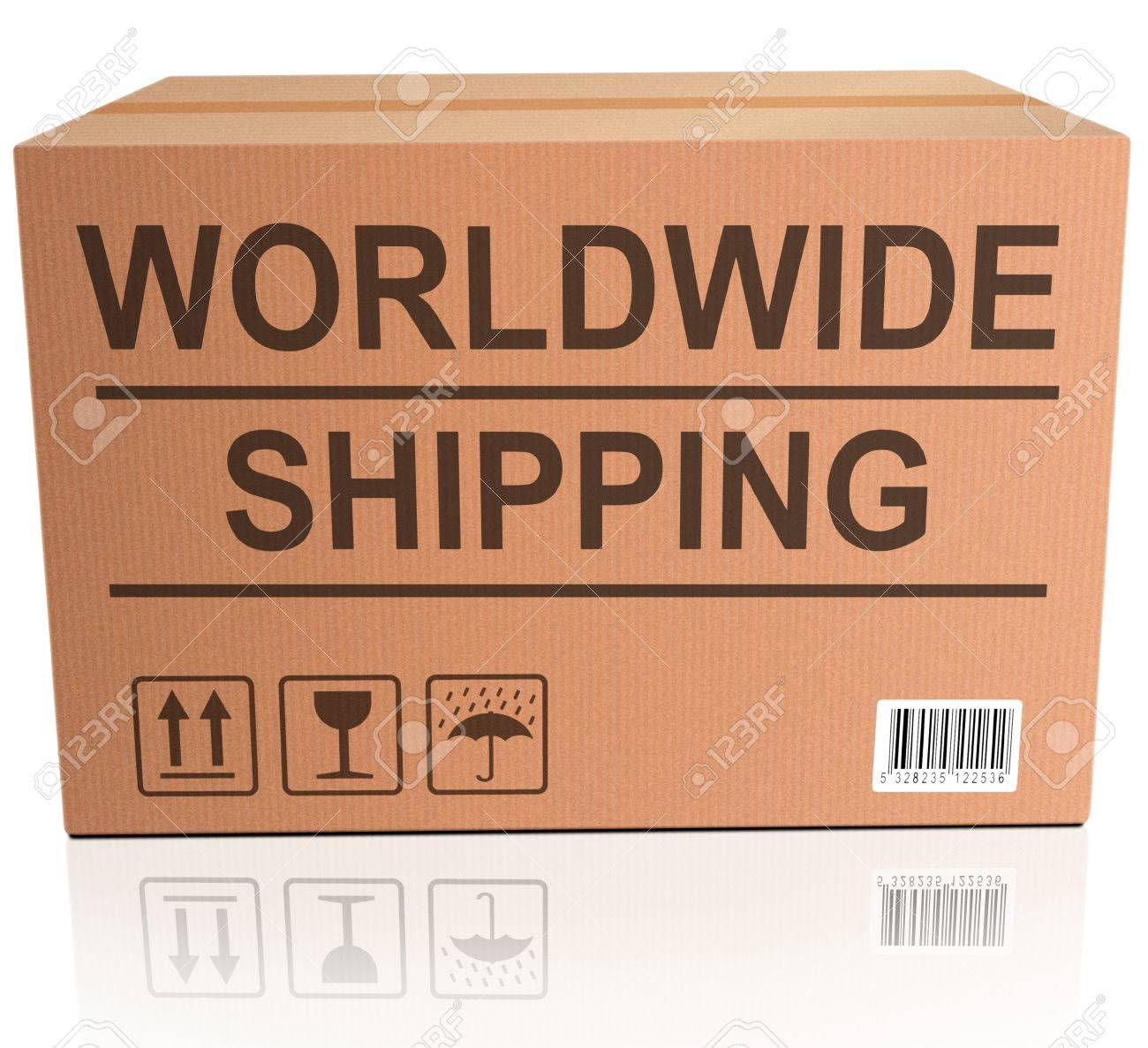 worldwide shipping global and international trade web shop icon