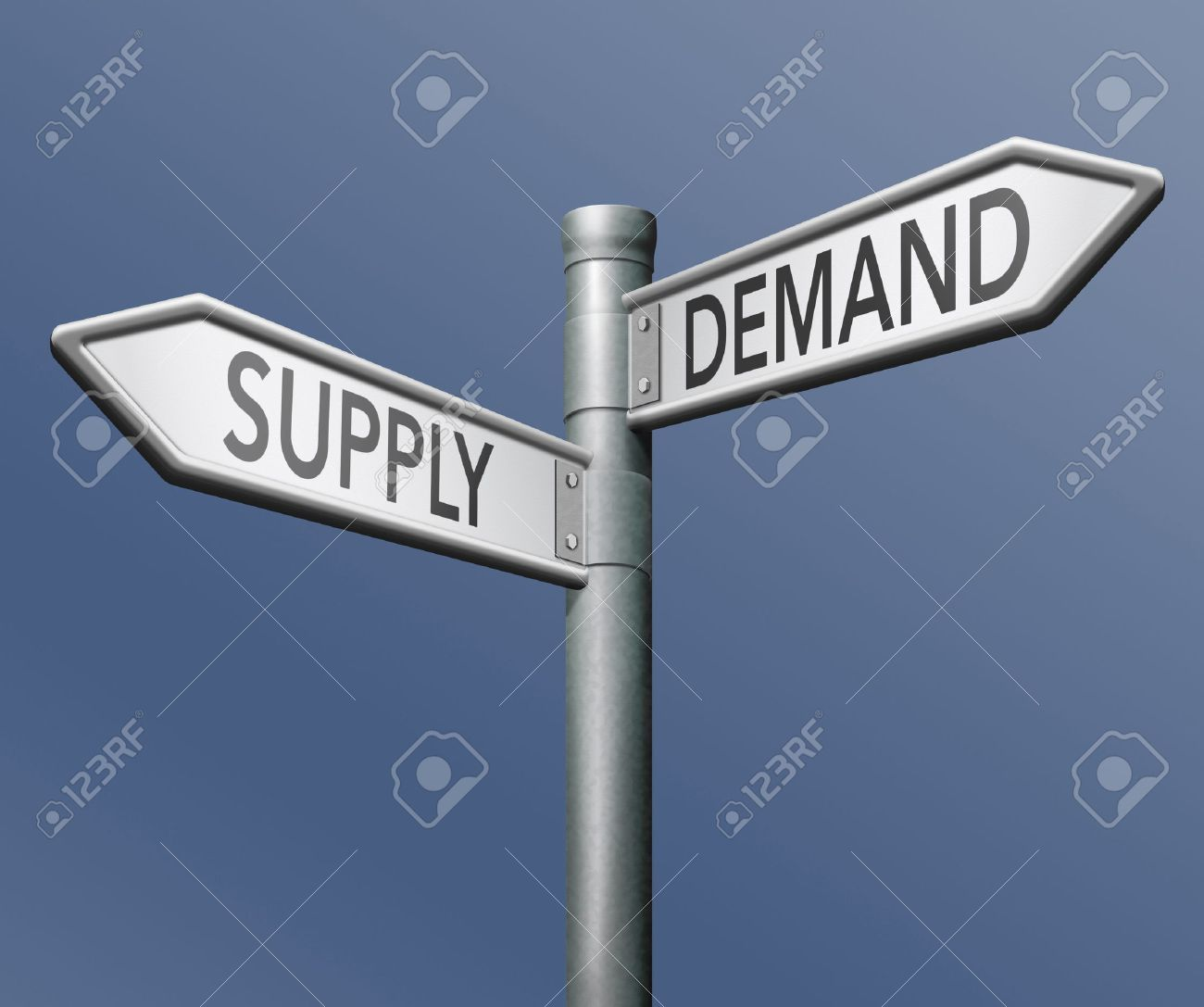 supply and demand market economy stock photo picture and royalty
