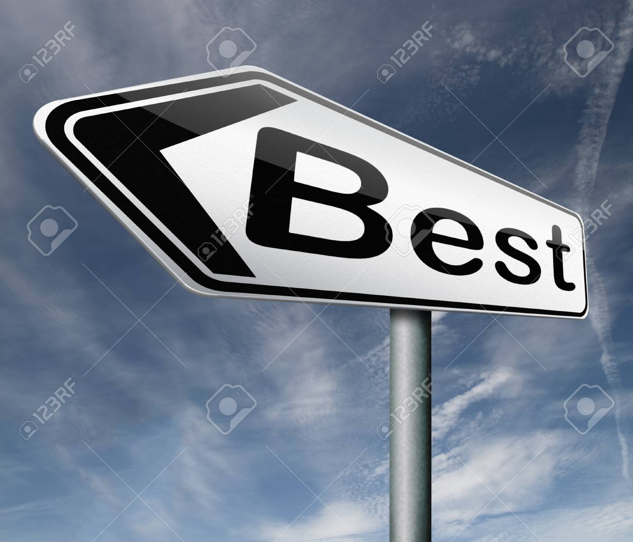 best price bargain sales or quality best icon best button road sign arrow Stock Photo - 16575393