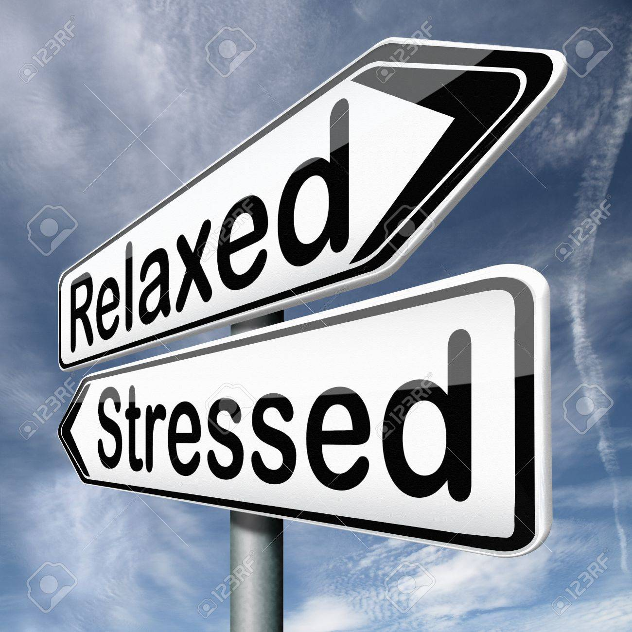 stress therapy and management helps in relaxation reduce tension and relief negativity become relaxed not stressed reduction of negative vibes destressing trough meditation and concentration Stock Photo - 17411736
