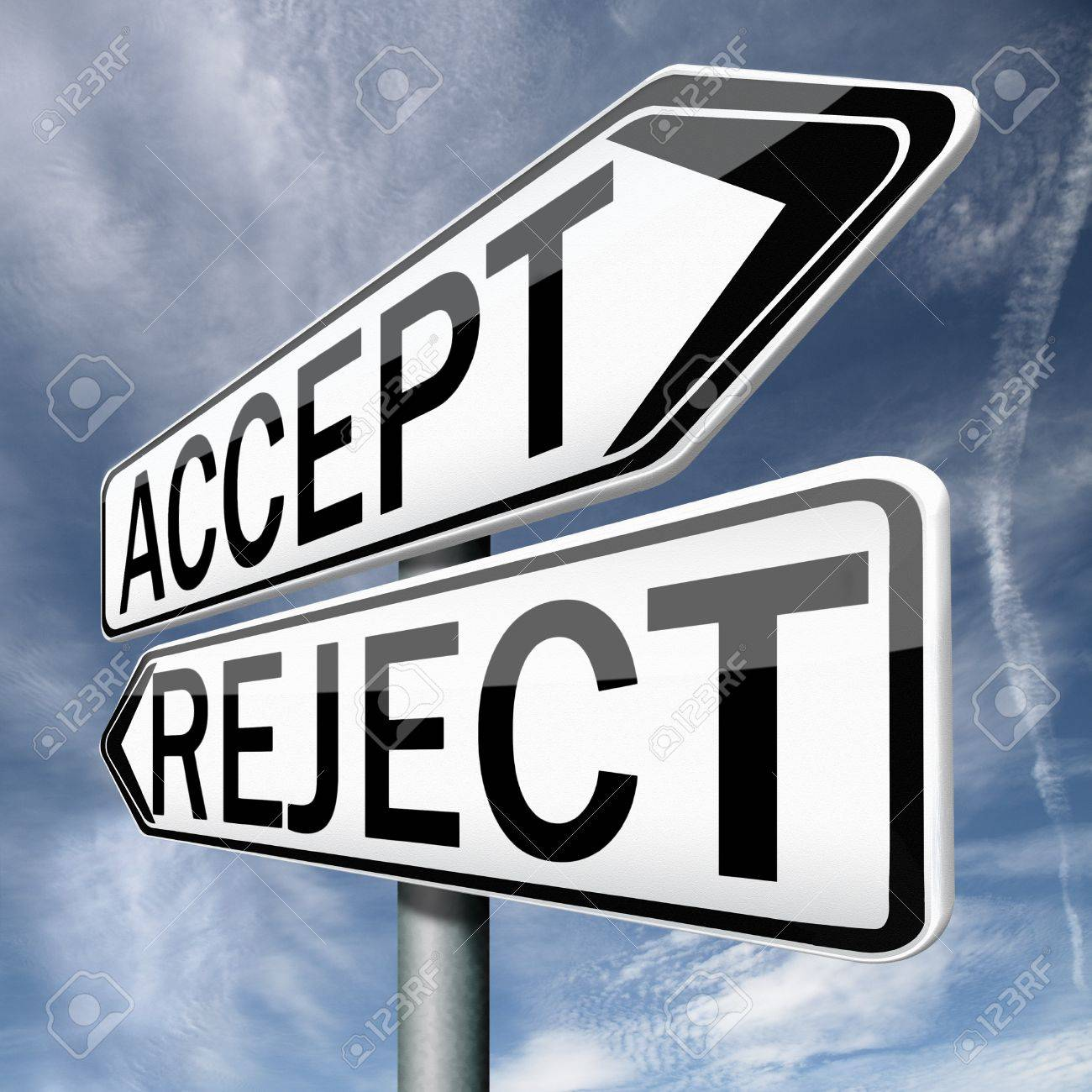 accept or refuse offer proposal or invitation yes or no stock stock photo accept or refuse offer proposal or invitation yes or no