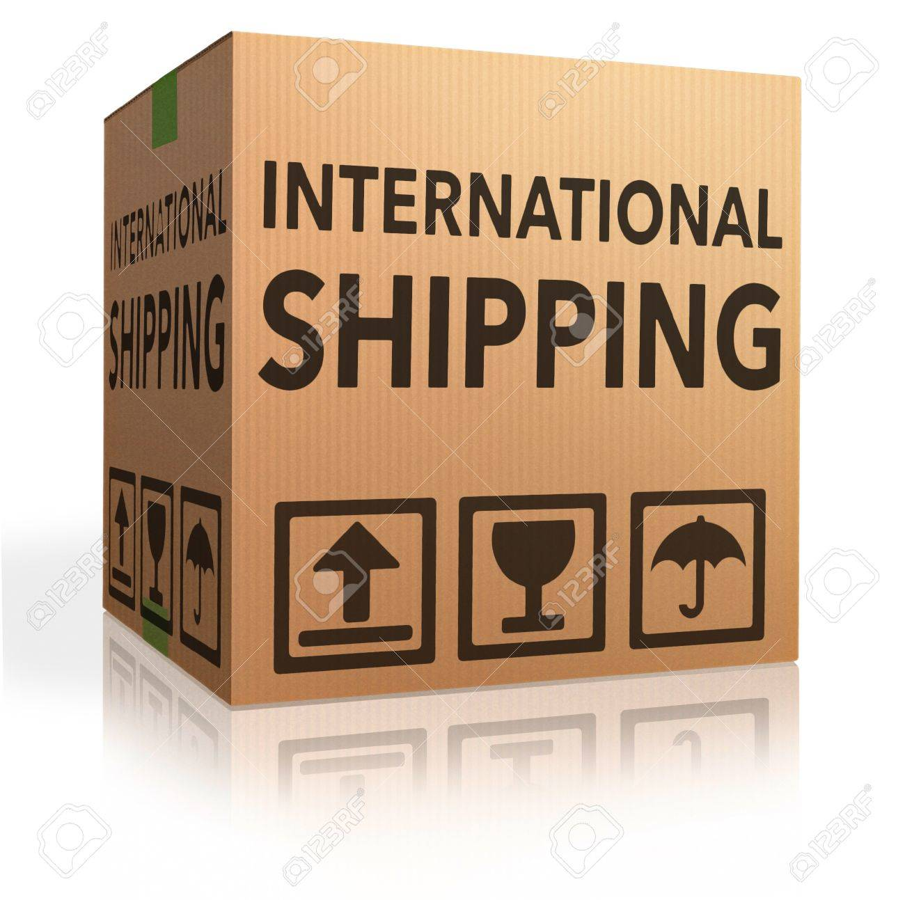 international delivery worldwide shipment of online package order