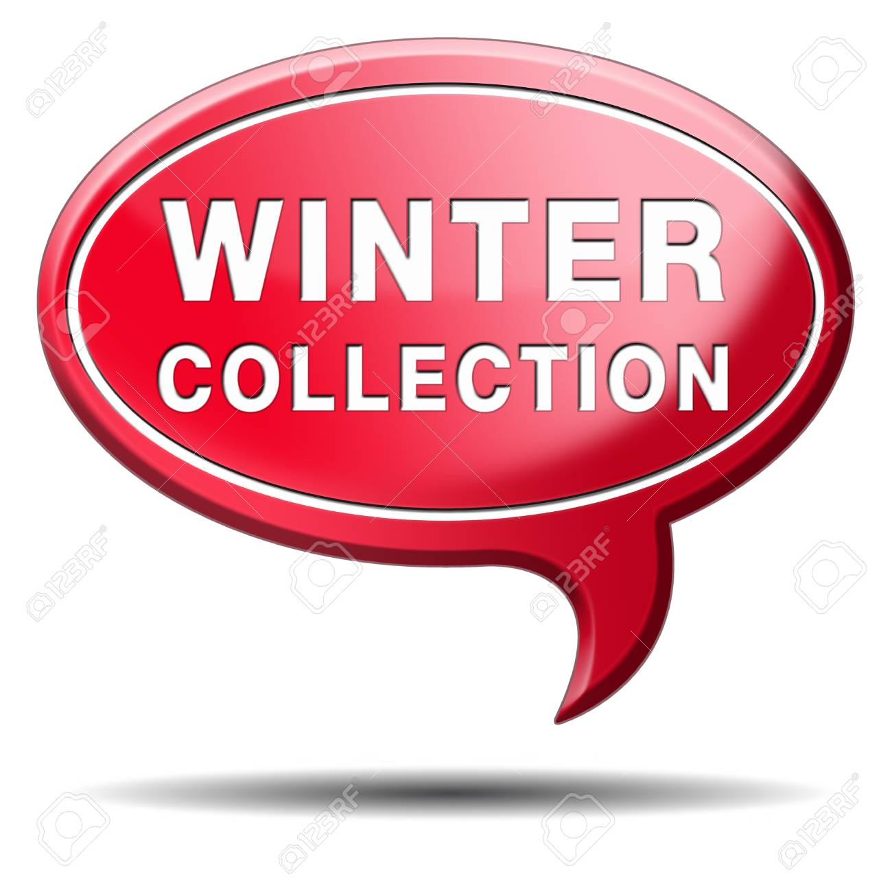 winter collection new latest fashion style icon or label Stock Photo - 22822168