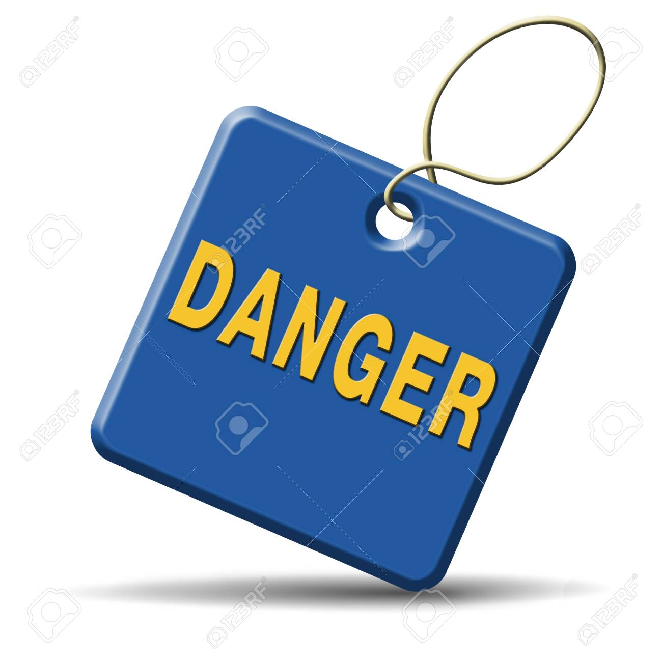 danger icon or dangerous sign Stock Photo - 22822181