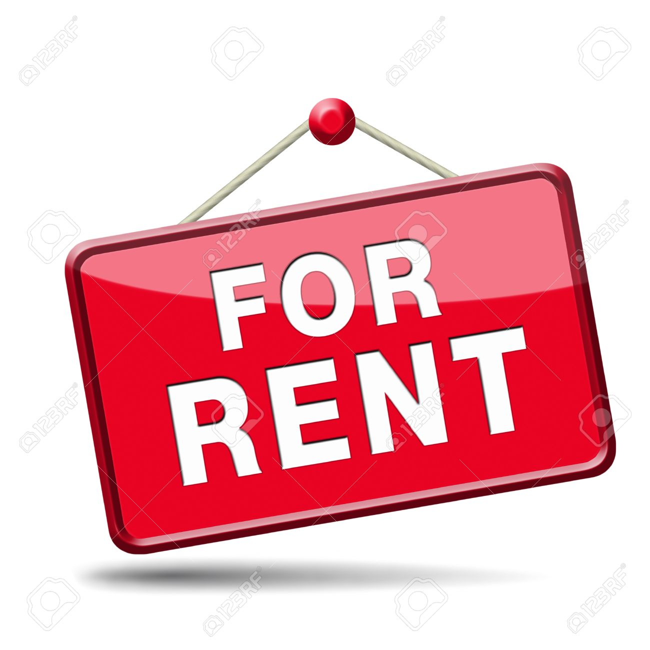 apartment or house for rent banner, renting a room or flat or other real  estate