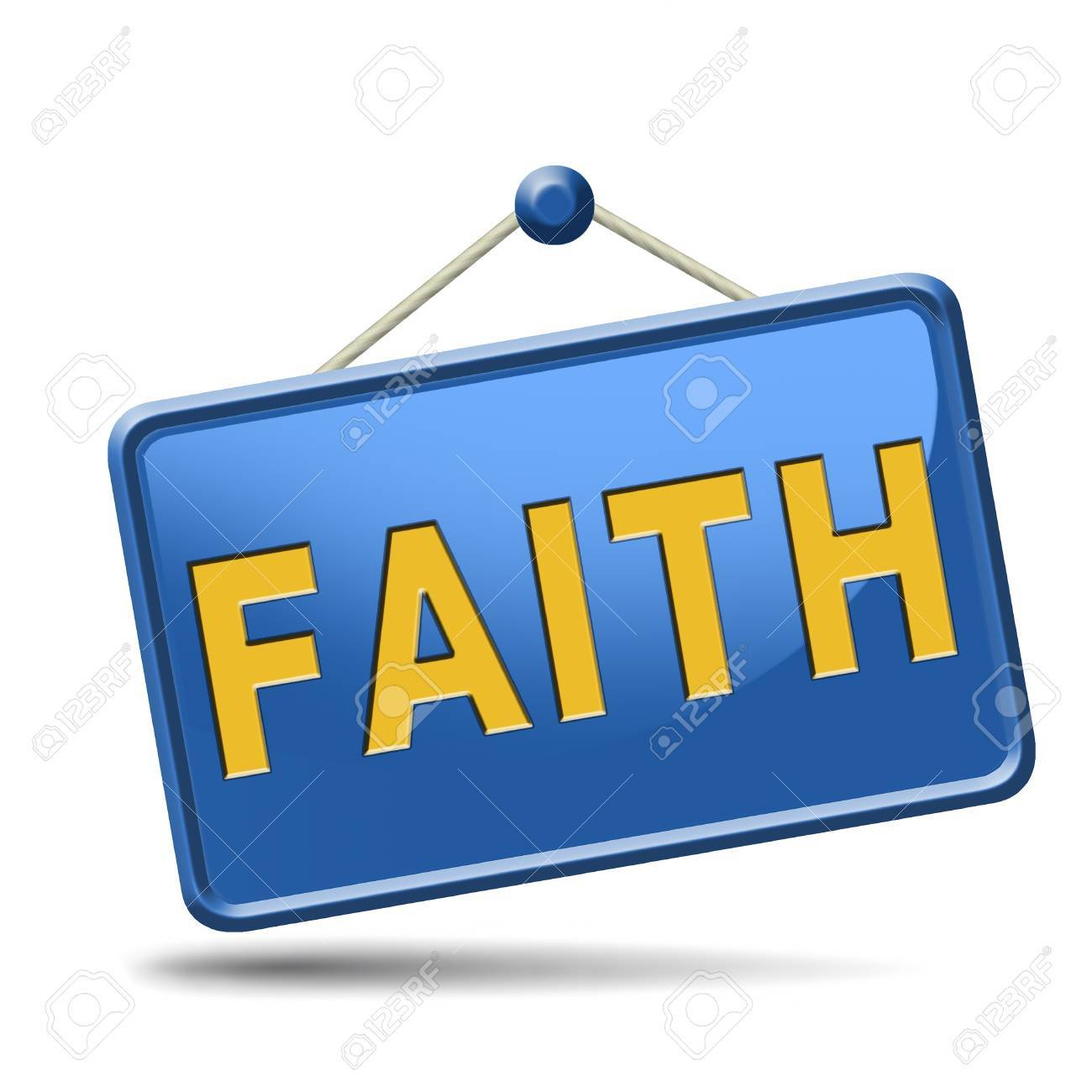 faith trust and belief in god jesus christ and friends Stock Photo - 23101160
