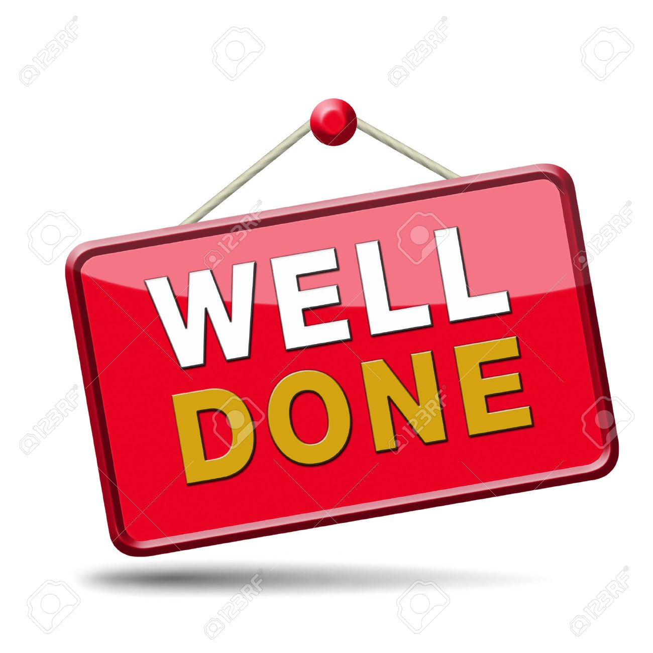 Excellent Work And Job Very Well Done Congratulations For A Stock Photo Picture And Royalty Free Image Image 23101229