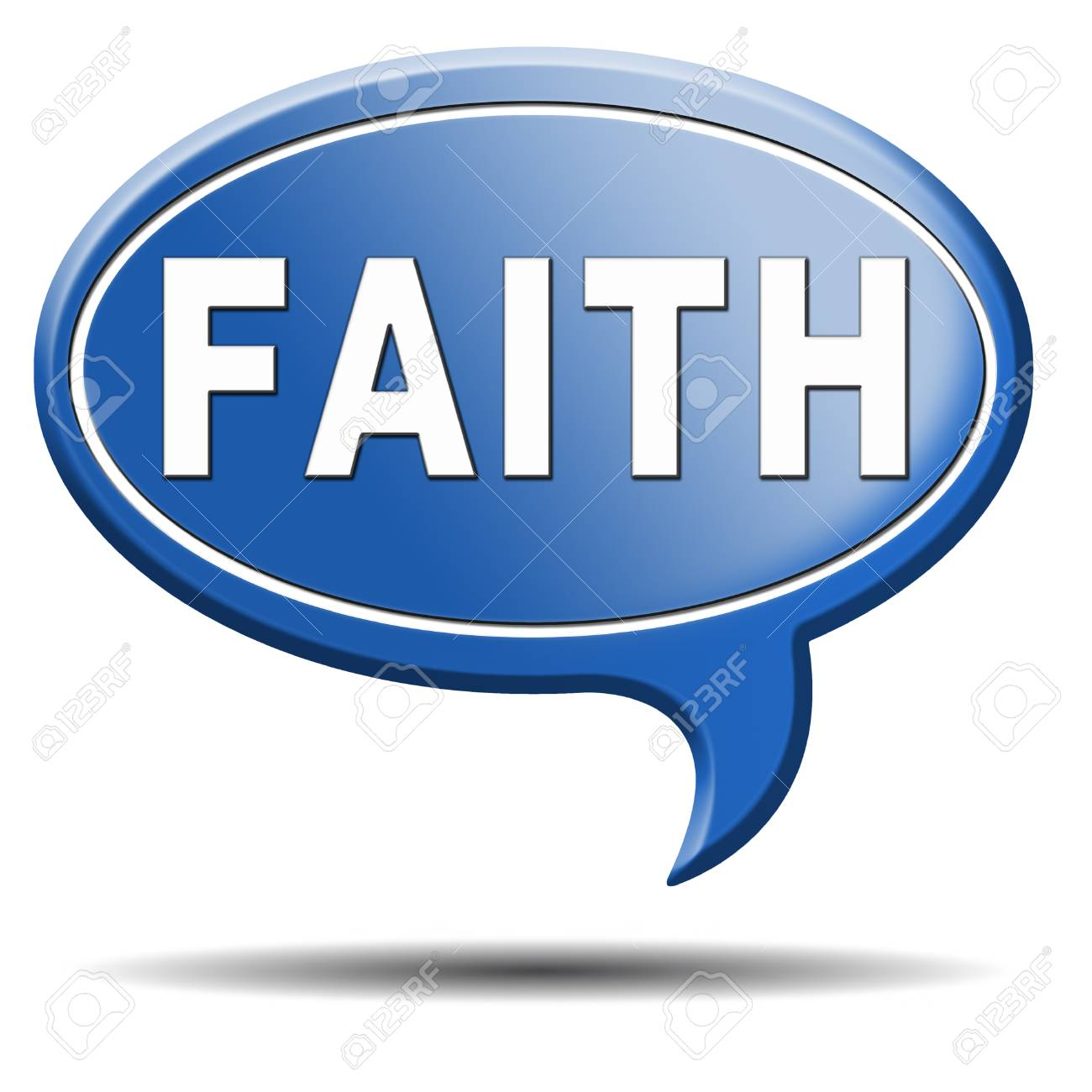 faith trust and belief in god jesus christ and friends Stock Photo - 23236933