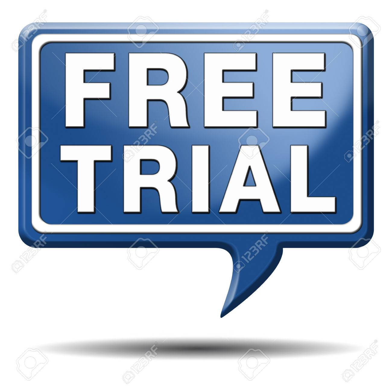 Free Trial Product Test Sample Icon Or Label. Try It For Free ...
