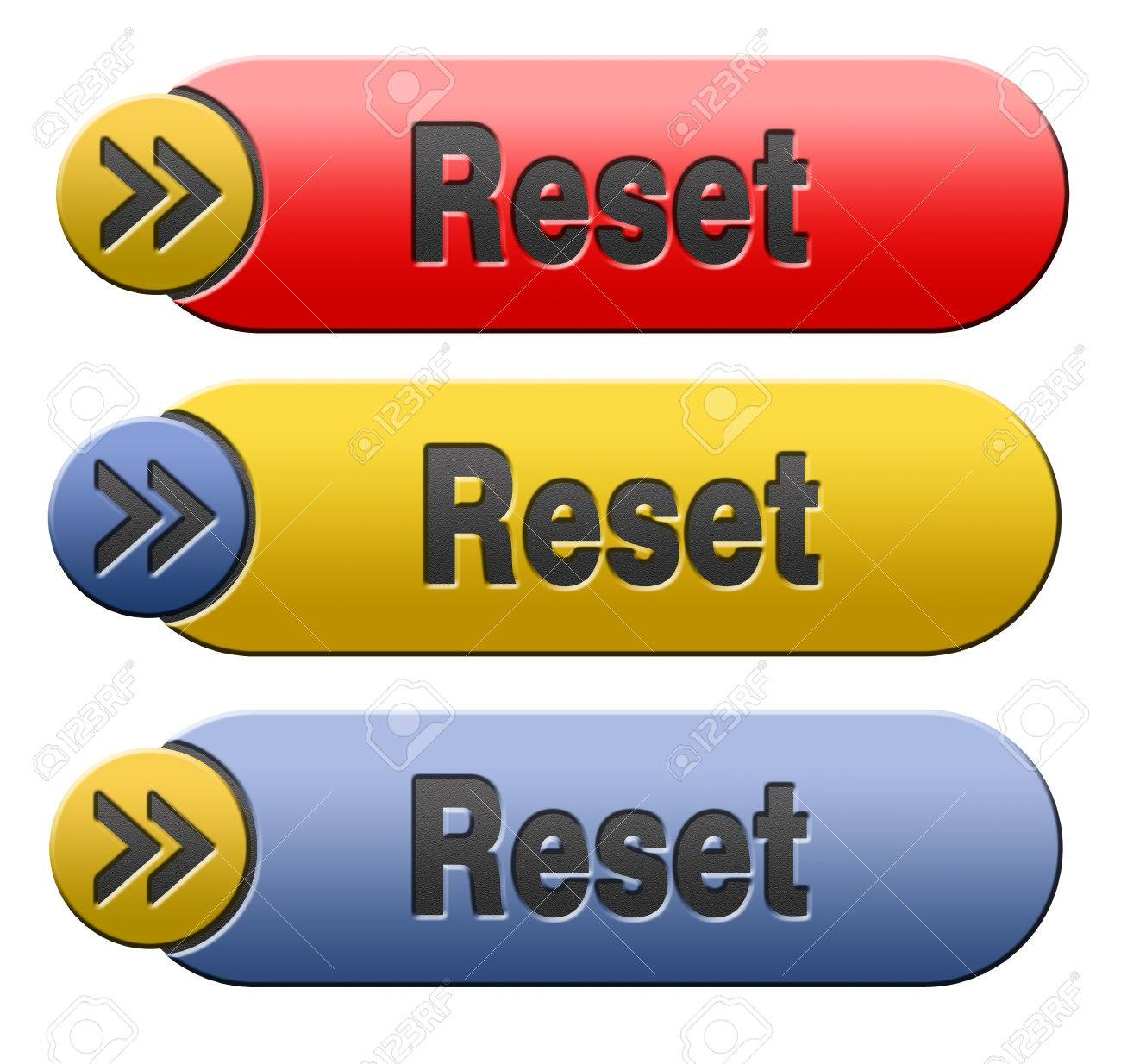 Reset button start again or refresh icon refresh or redo sign Stock Photo 23499897
