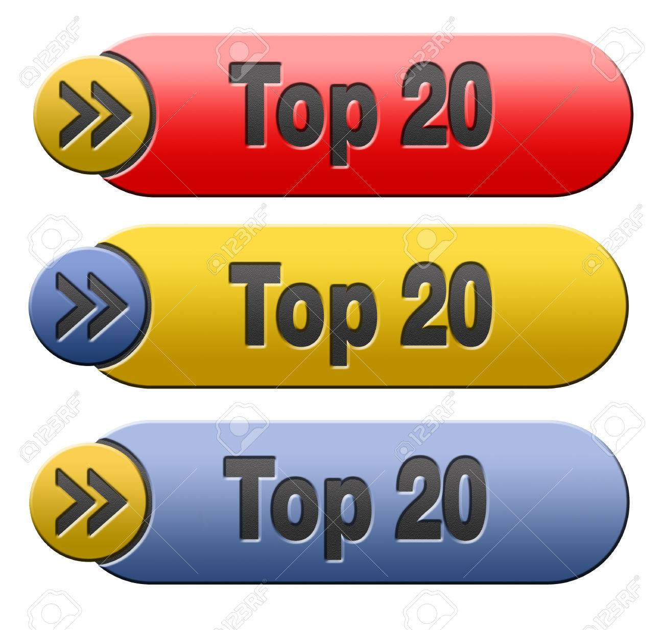 top 20 charts list pop poll result and award winners chart ranking