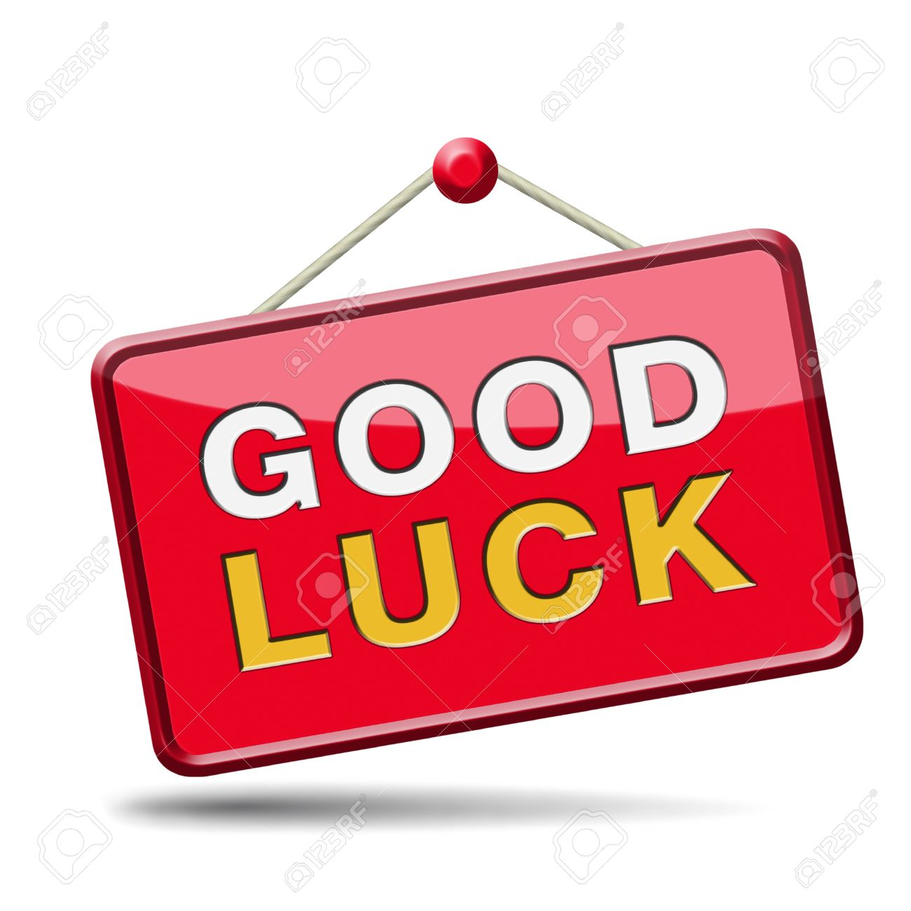 Good Luck Best Wishes Wish You Luck Stock Photo Picture And